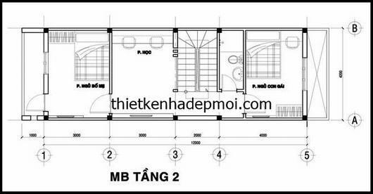 mat bang lau 1 nha ong 3 tang 4x12