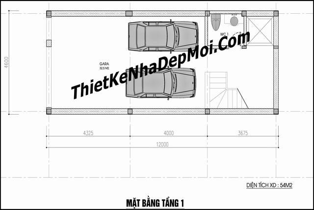 thiet ke nha ong co thang may 5543