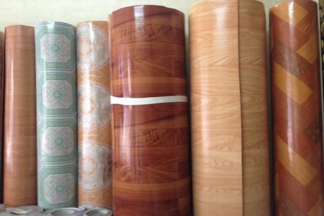Các mẫu thảm nhựa trải sàn giả gỗ đẹp