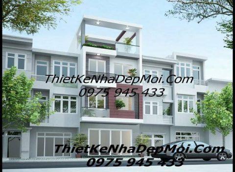 Nhà 1 tret 3 lau 1 san thuong mat tien 4.5m