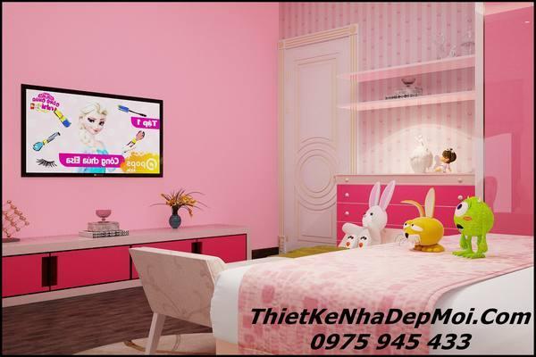 Phòng ngủ đẹp con gái